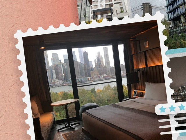 I stayed at 1 Hotel Brooklyn Bridge and loved the waterfront location, city views, and how my room embraced nature — here's why I would gladly book again