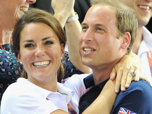 22 photos of Kate Middleton and Prince William showing rare PDA