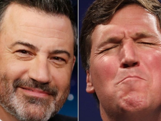 Jimmy Kimmel Taunts Tucker Carlson With A Mock Honor That Could Haunt Him Forever