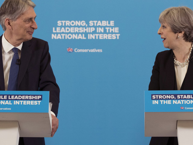 Theresa May Refuses To Confirm Philip Hammond Will Stay As Chancellor After The Election