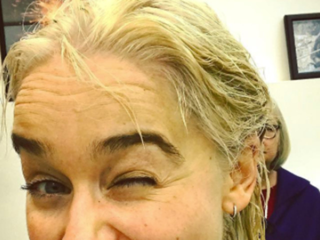 Emilia Clarke Has Died Her Hair Daenerys Blonde For Real