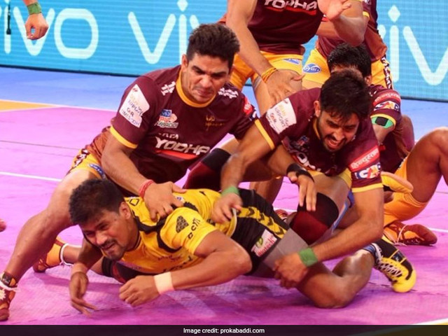 Pro Kabaddi League 2017: UP Yoddha Beat Telugu Titans 31-18