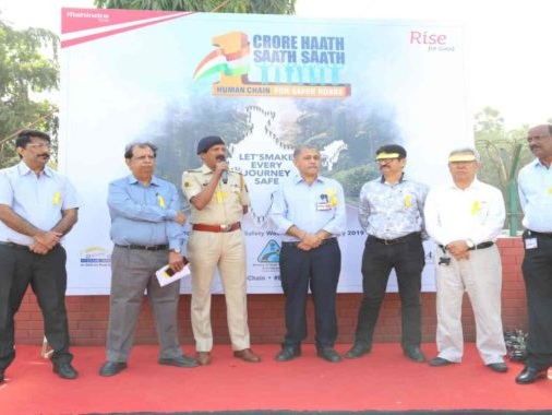 #1CroreHaathSaathSaath Reiterates Mahindra's Commitment Towards Safety