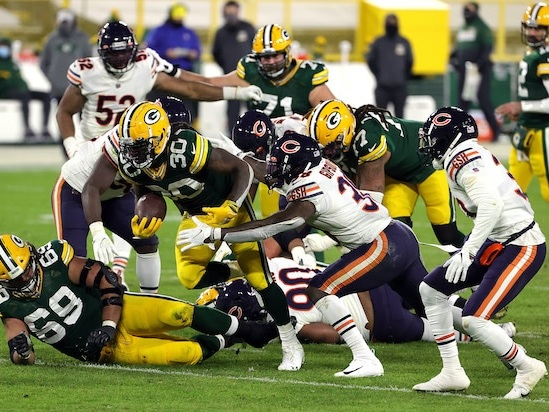 NBC Is Thankful for These Chicago Bears vs Green Bay Packers Ratings