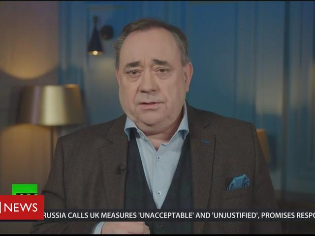 Alex Salmond: Russian station RT 'not propaganda'