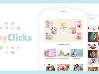 Baby Photography | WordPress Photographer Theme (Photography)