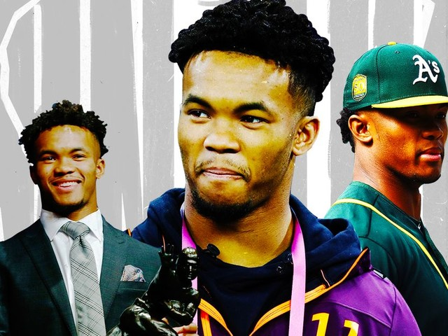 A timeline of how Kyler Murray went from baseball to potential No. 1 NFL Draft pick