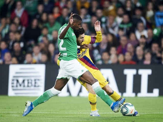 Real Betis right-back Emerson sees himself at Barcelona in 2021