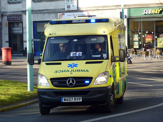 Ambulance driving volunteers? Thanks, but no thanks