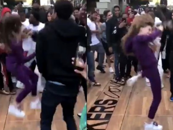 When One Woman Gave Her Courage, This Girl Totally Crushed It On The Dance Floor