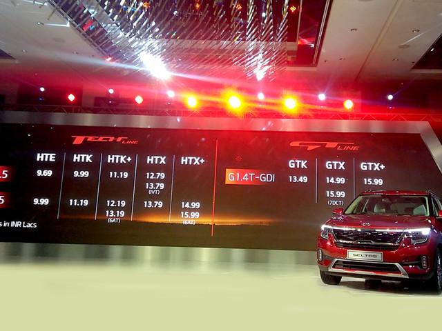 Kia Seltos price, variants explained