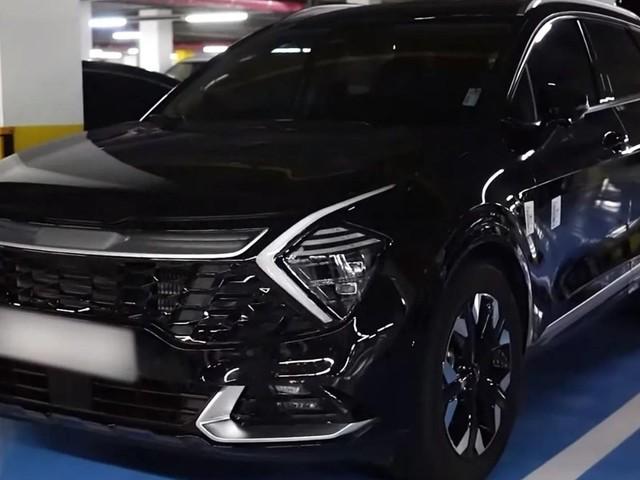 All-New Kia Sportage Sizzles In Glossy Black Colour – Video