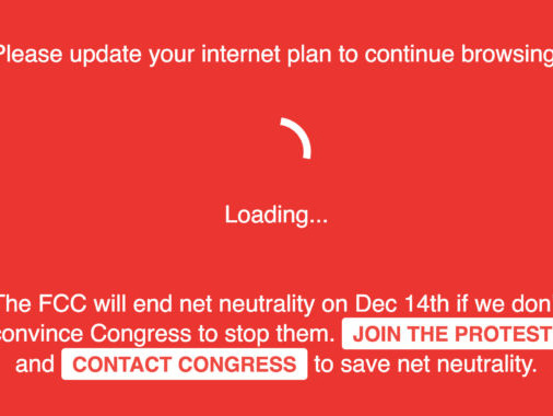 """How Reddit and others """"broke the Internet"""" to support net neutrality today"""