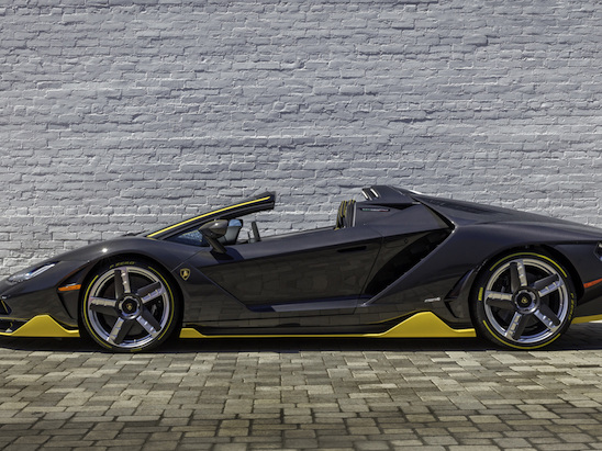 World's First Lamborghini Centenario Roadster Delivered in the U.S.