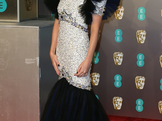 Margot Robbie in bejeweled Chanel at the BAFTAs: gorgeous or overworked?