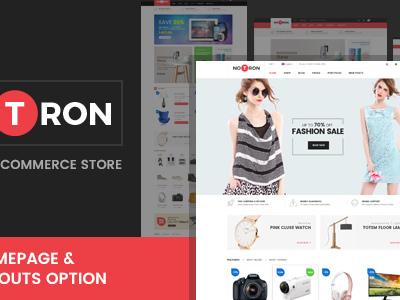 Notron - Fashion and Digital WooCommerce WordPress Theme (WooCommerce)