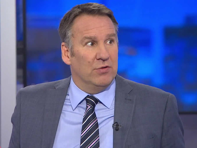 Paul Merson gives his prediction for Everton v Man United