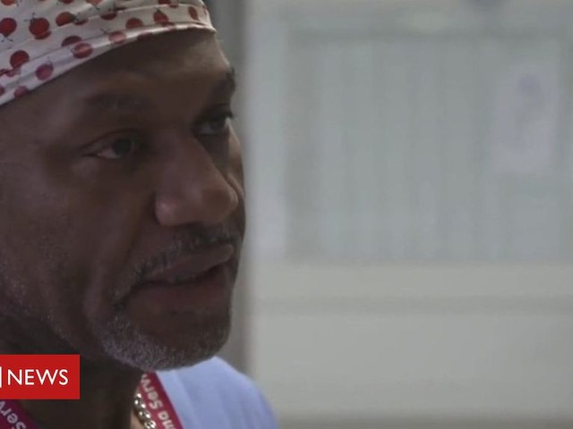 Knife crime: On the wards with a London surgeon