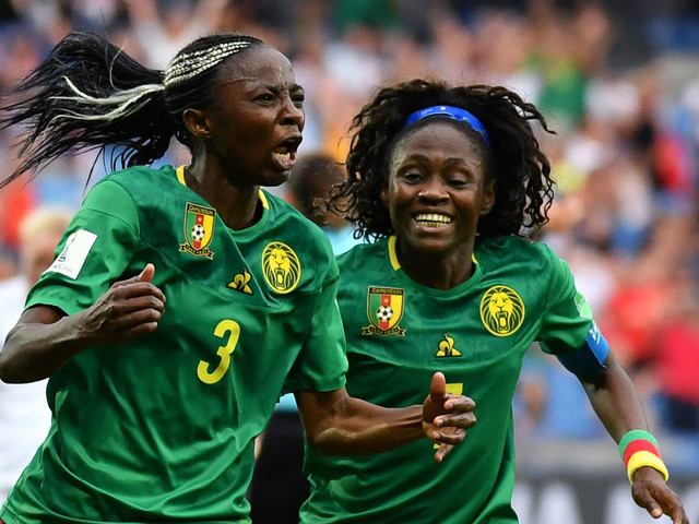 Women's World Cup last-16 draw: Cameroon win late to set up England clash