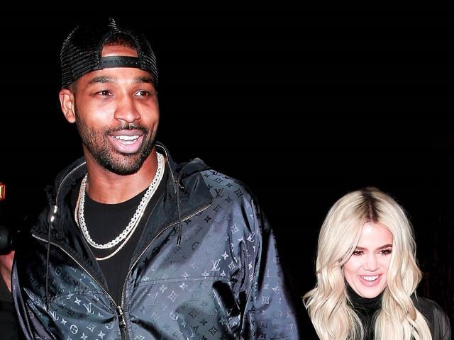 Khloe Kardashian & Tristan Thompson Look So Happy After His NBA Win
