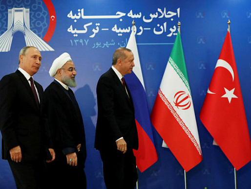 Russia, Iran, Turkey meet on Syria's Idlib province