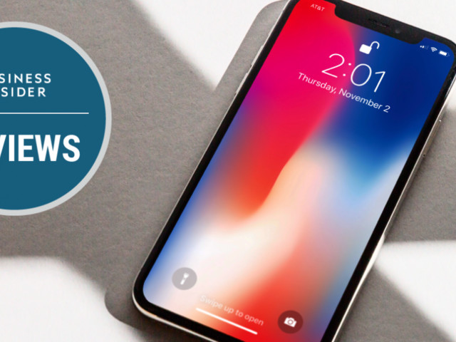 The iPhone X review (AAPL)