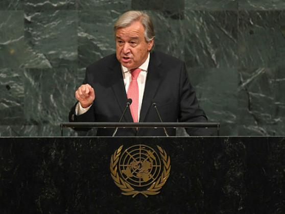 World afraid of nuclear war with N. Korea, says UN chief Guterres
