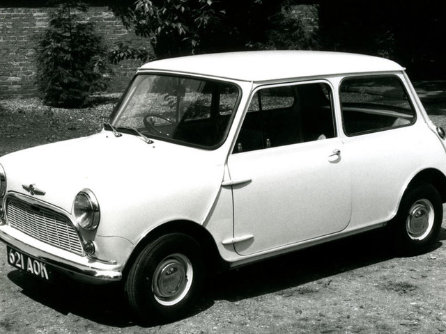 Happy birthday to Britain's favourite car: Mini at 60