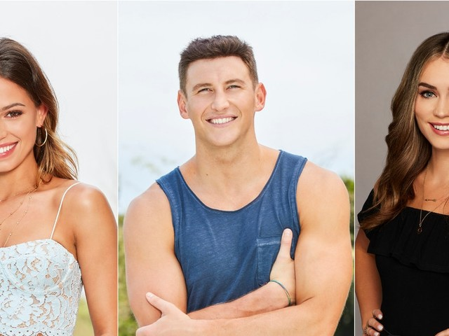 Kristina & Caitlin's Fight About Blake On 'Bachelor In Paradise' Got Super Tense
