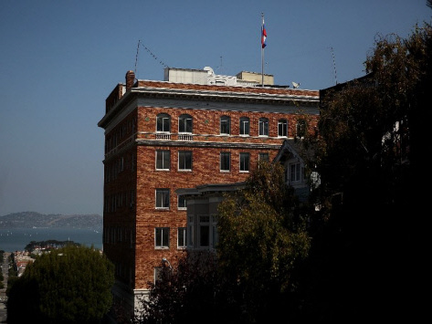 Russia says US plans to search its San Francisco consulate