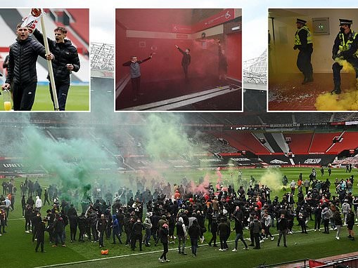 The day protest turned to MAYHEM: Protester opens up on 'unreal' break-in at Old Trafford