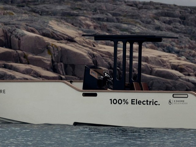 This $280,000 silent electric boat was inspired by electric eels — here's what it looks like