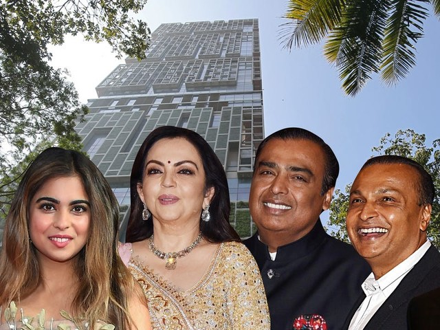 Mukesh Ambani is India's richest man for the 12th year in a row. Meet the Ambanis, Asia's wealthiest family, who live in a $1 billion skyscraper and mingle with royals and Bollywood stars.
