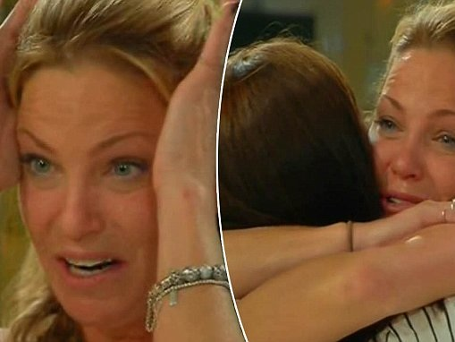 Celebrity Big Brother's Sarah Harding breaks down in tears