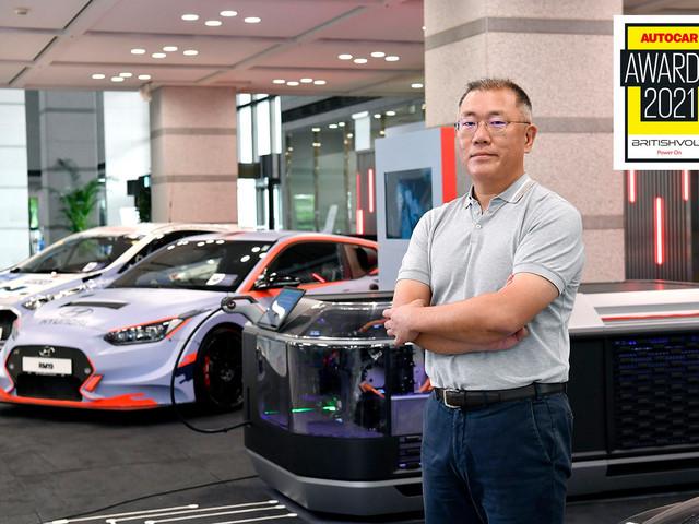 Autocar Awards 2021: Hyundai Chairman Euisun Chung wins Issigonis Trophy