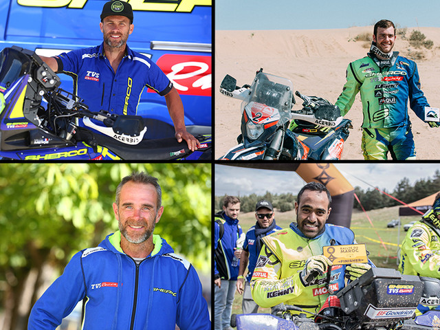 Sherco TVS announces rider line-up for 2019 PanAfrica Rally