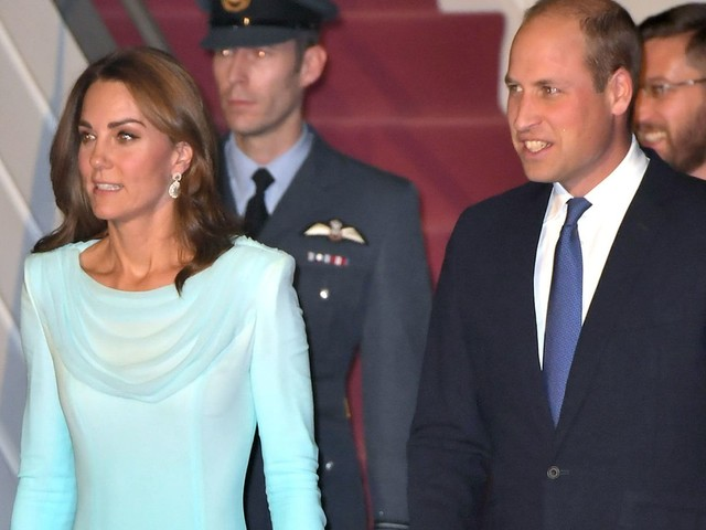 William and Kate land in Pakistan for 'most complex' tour to date