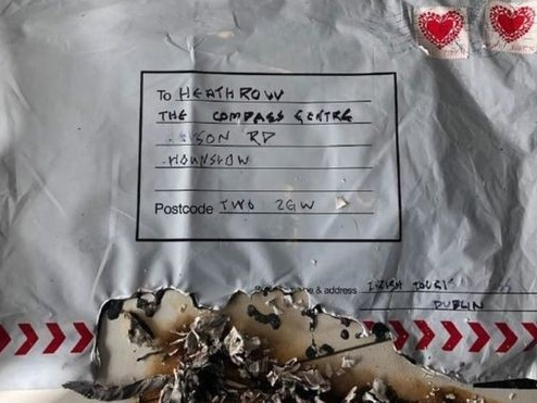 'IRA' claims responsibility for London and Glasgow parcel bombs
