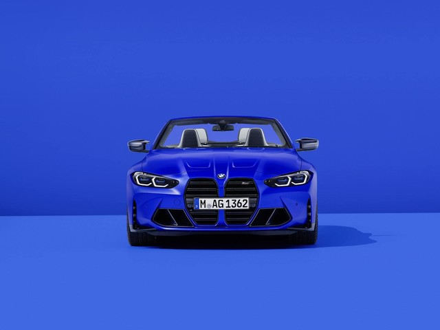 2022 BMW M4 Convertible gallery updated with new photos