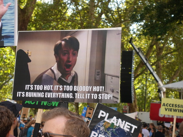 The Best Signs We Saw At Today's Climate Strike