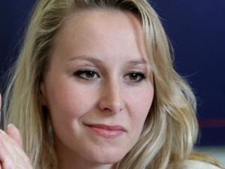 Ex-rising star of French far right steps into US limelight