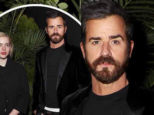 Justin Theroux joins costar Logan Polish for a screening of The Mosquito Coast