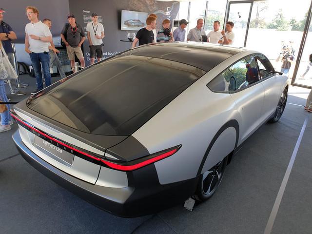 Lightyear One solar-charging EV makes UK debut