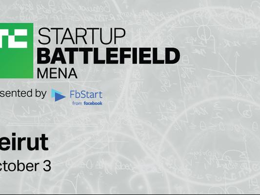 Get your tickets to TechCrunch Startup Battlefield MENA 2018