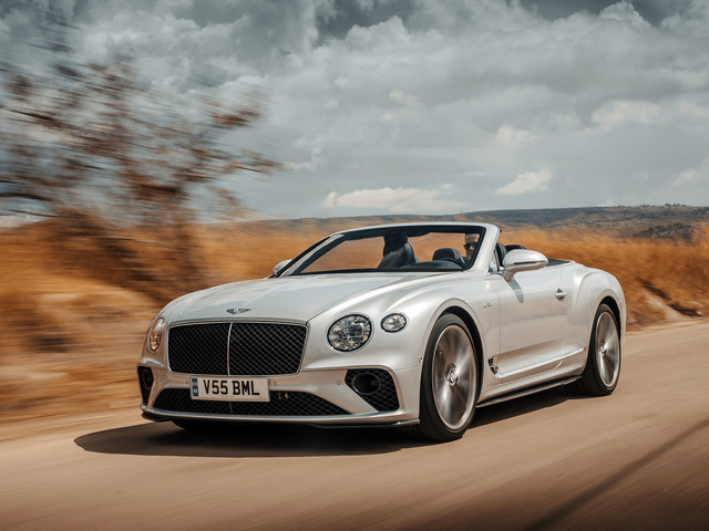 Bentley Continental GT Speed Convertible 2021 review