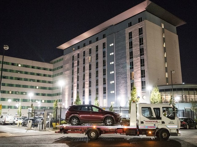 Update: 17-month-old boy killed in car park of Salford Quays hotel - police believe it was a 'tragic accident'