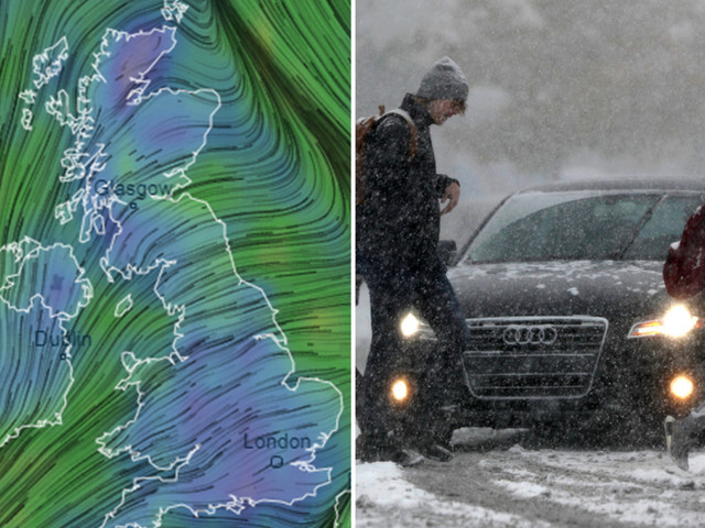 UK weather forecast – 50 flood alerts in force as Brits brace for heavy rain… and snow is on the way