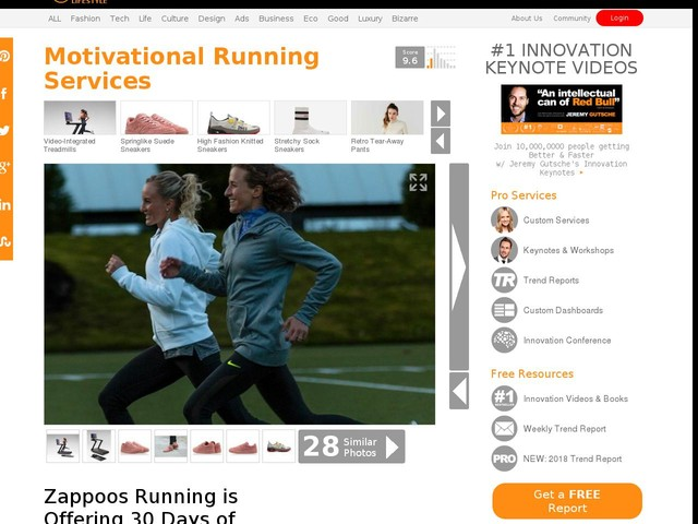 Motivational Running Services - Zappoos Running is Offering 30 Days of Motivational Phone Calls (TrendHunter.com)