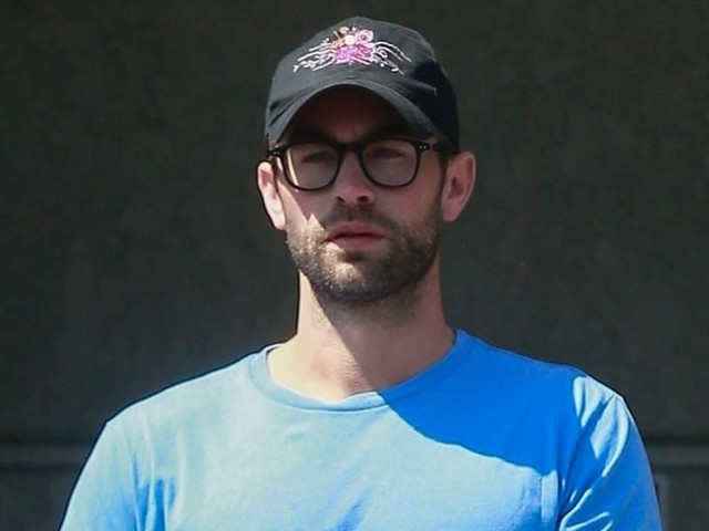 Chace Crawford Shows Off His Muscles While Running Errands