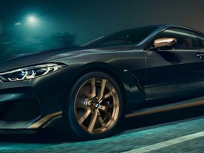 Golden Thunder Edition Is the Most Opulent BMW 8 Series to Date